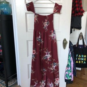 Dresses & Skirts - Floral, High-low maxi dress